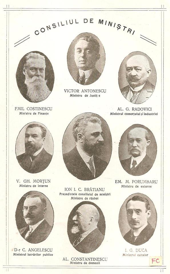 Cabinetul Ionel Bratianu 1914