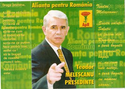 Teodor Melescanu APR presedintie 2000